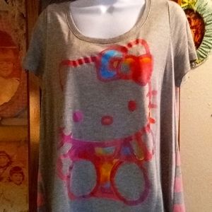 Hello Kitty Loose Fitting Tshirt
